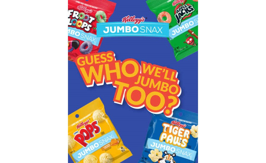Kellogg's Jumbo Snax Reveals Mystery Flavor in Honor of National Snack Day