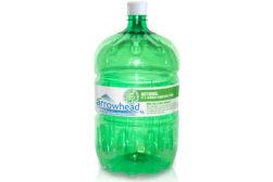 recycled green PET water cooler bottle