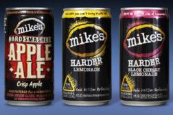 Mikes hard lemonade cans
