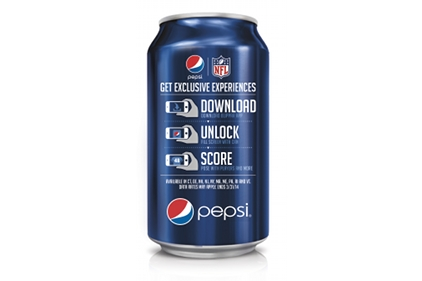Pepsi blip can