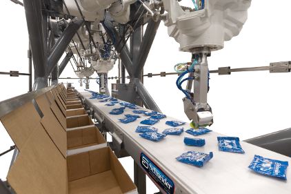 Robots in packaging