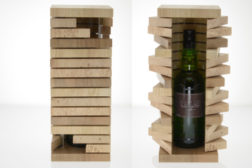 stairs wine box