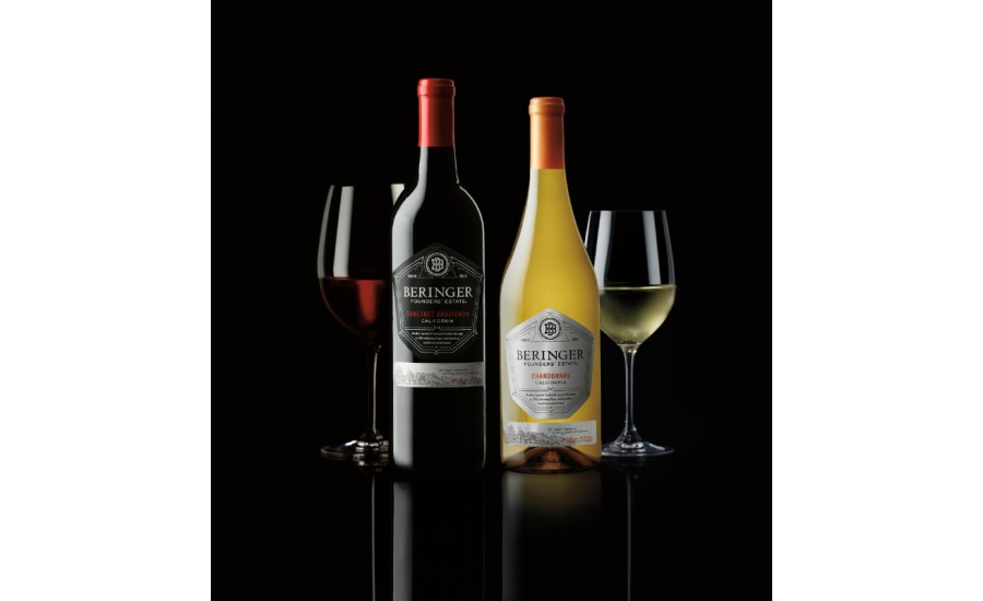 Beringer Founders' Estate Wines launches new packaging and advertising on Food Network