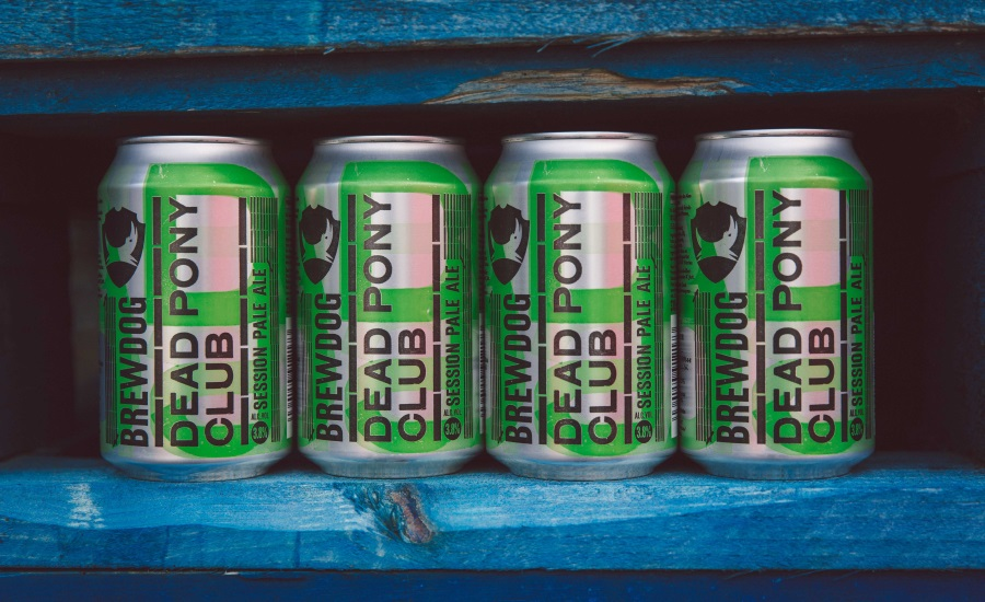 Crown and Brewdog bring Scottish craft beer to cans