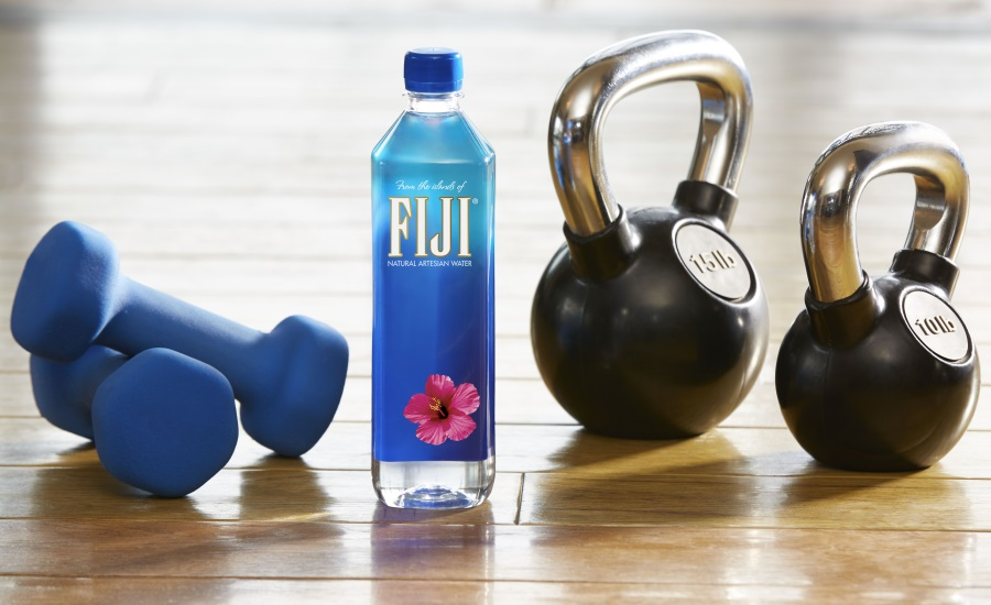 NEW SLIM, SLEEK FIJI�® WATER 700 ML FITS  IN THE CAR, AT THE GYM AND EVERYWHERE YOU GO