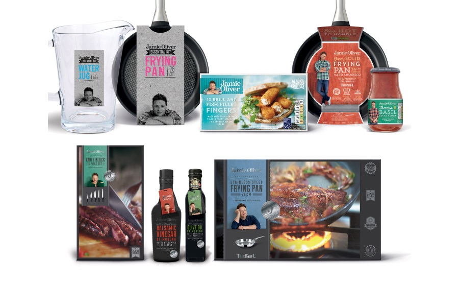 Hornall Anderson helps to redesign Jamie Oliver range