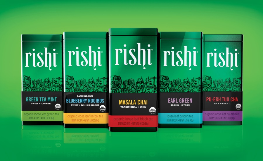 Elmwood creates rich brand story for organic specialty tea brand, Rishi