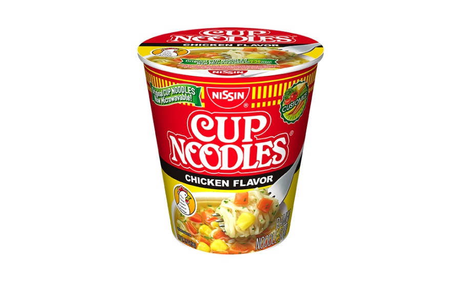 Nissin introduces first microwavable Cup Noodles with extra room to customize your cup
