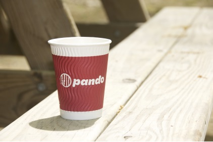 Pando International Launches with Innovative Embossed Paper Coffee Cups