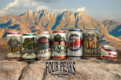 Four Peaks Launches Five Brews in Rexam 12 oz. Cans