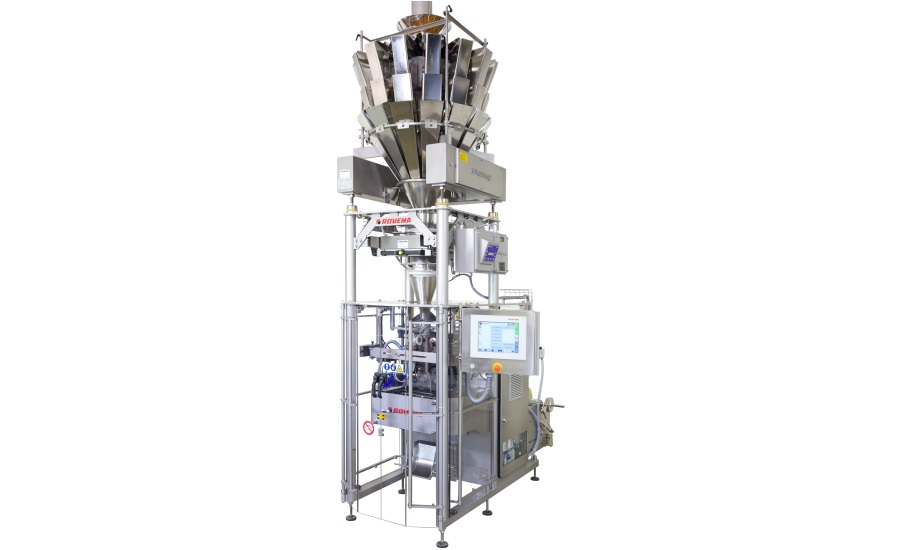 Rovema packaging system satisfies the demands of snack producers
