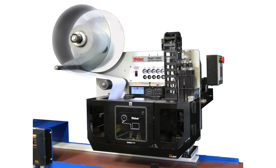 Weber Packaging Solutions introduces a breakthrough in liner-free Label printer-applicators