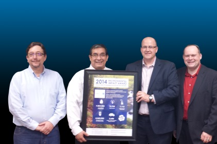 Ardagh Group Presented with Environmental Impact Award from Pratt Industries