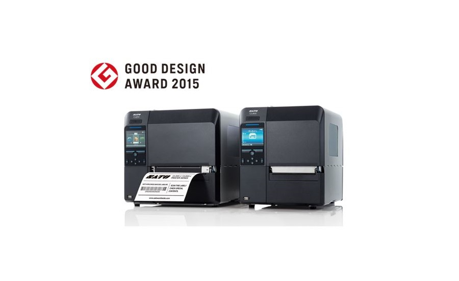 SATO awarded good design award for rugged CL4NX/CL6NX line of universal industrial printers