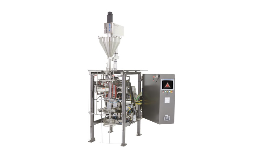 Triangle's Model XYS08U VFFS Bagger offers high speed bagging, optional ultrasonic sealing