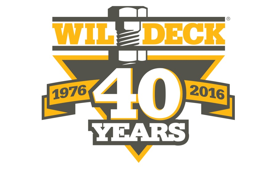 Wildeck marks 40th anniversary as a leading manufacturer of material handling products