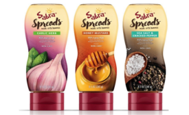 Sabra hummus-based spreads for sandwiches