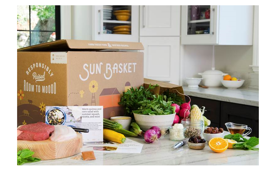 Sun Baskets new recyclable compostable packaging