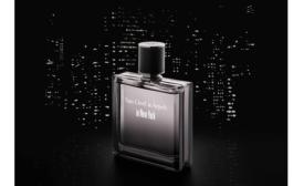 New men's perfume bottle inspired by Manhattan skyline