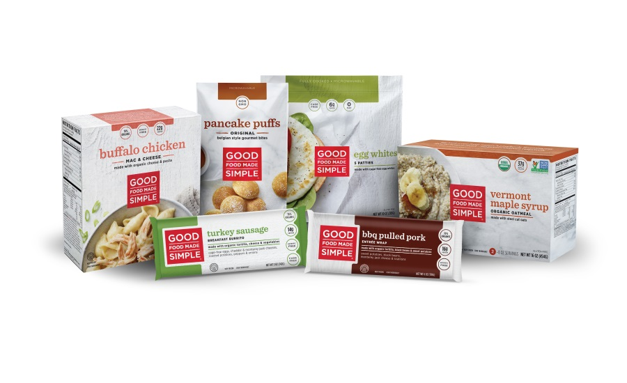 Good Food Made Simple expands organic offerings & reveals new packaging