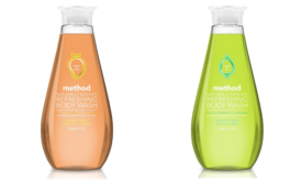 Method brings new body wash packaging to personal care