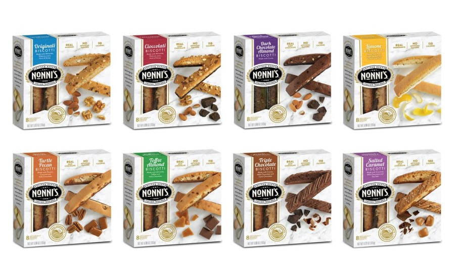 Nonni's Biscotti launches new product packaging