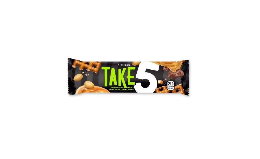 The Hershey Company relaunches the TAKE5 brand with help of millennials