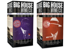 Big House Wine sports prohibition message, look