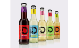 Dalston's new soft drink packaging