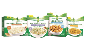 Green Giant launches new package design in pouches