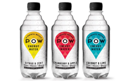 Power Water new beverage shrink sleeves