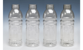 rPET use in hot fill bottles packaging study