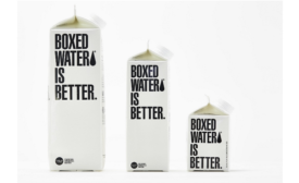 Boxed Water corrugated plants thousands of trees as recycling measure