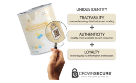 CrownSecure new track and trace solution for packaging