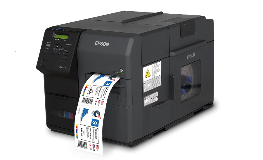 Epson Introduces Industrial ColorWorks Label Printer With Print Chip Technology