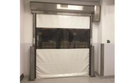 Rite-Hite Litespeed door for packaging safety