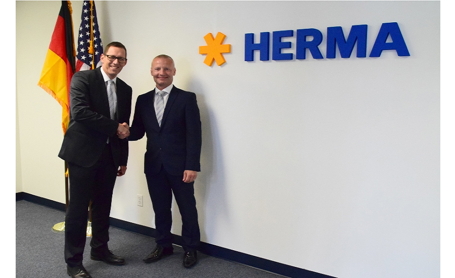 HERMA opens new U.S. facility for labeling machinery, self-adhesive materials