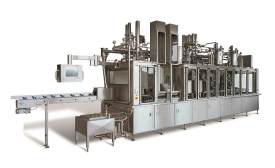 Bosch Packaging new dairy filler machine