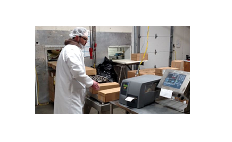 Dairy Packaging Company uses Fairbanks Scales bar code labeling and printer