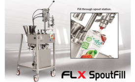 AlliedFlex releases new filling and capping machine for spouted pouches