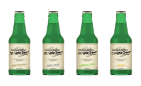Mini packaging for Brooklyn Crafted ginger beer