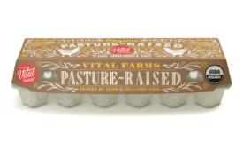 Vital Farms egg cartons get new transparent design