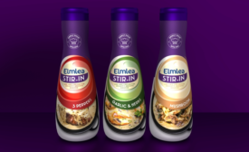 Unilever's Elmlea Stir-In sauces launch in new bottle design
