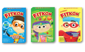Fitkom Vitamin Gummies launches new packaging by Anthem