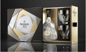 Stunning new package design for Hennessy X.O Limited Edition