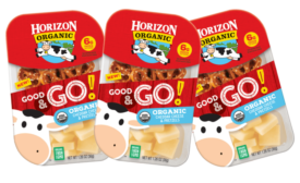 New Horizon Organic Good & Go! line of snack foods introduced