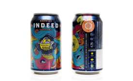 New sour ale beer shows off retro-style package design