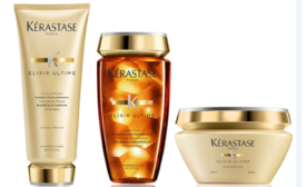Bringing the gold to Kérastase hair care product line