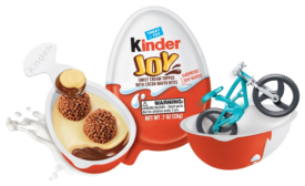 Kinder Joy offers sweet treat and toy surprise in egg packaging