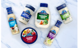 Salad dressings and dips get outfitted with new package design